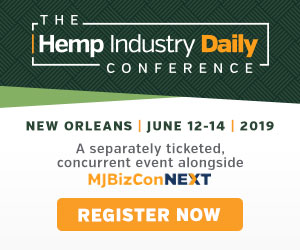 Hemp Industry Daily Conference | blackbirdfarmsco.com