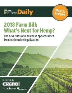 farm bill data hemp, 2018 Farm Bill Report