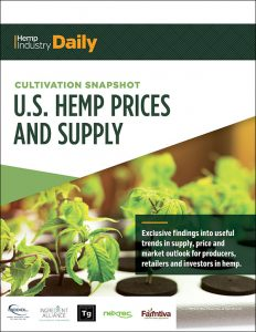 As hemp acreage booms, pricing confusion bedevils new hemp