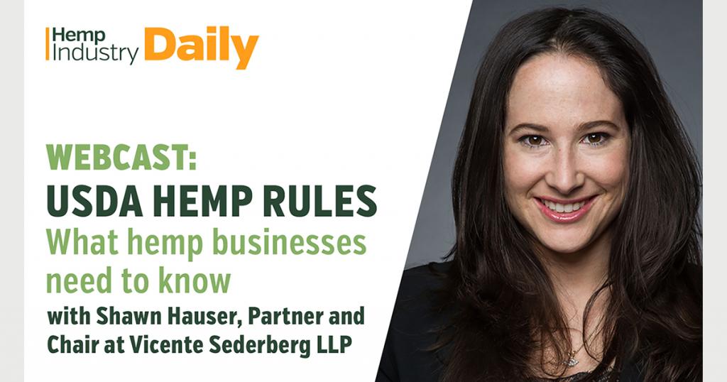 Exclusive Webcast: Breaking down the USDA's hemp rules