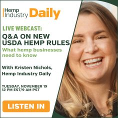 , Exclusive webcast: Live Q&A on USDA's new hemp rules