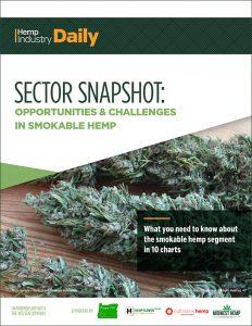 , Sector Snapshot: Opportunities & Challenges in Smokable Hemp Download