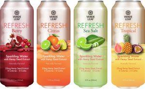 , Verde Leaf ™ Introduces REFRESH™ a CBD Sparkling Water