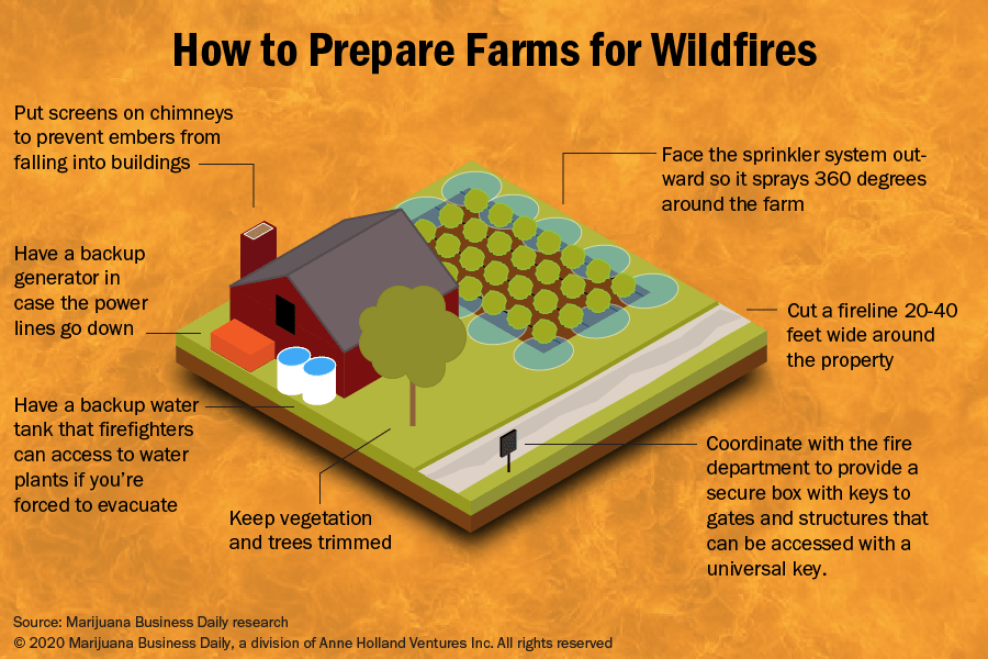 , 6 ways hemp growers can defend their farms against wildfires