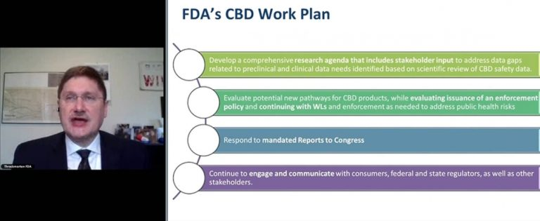 , 8 takeaways from FDA's conference on CBD and gender