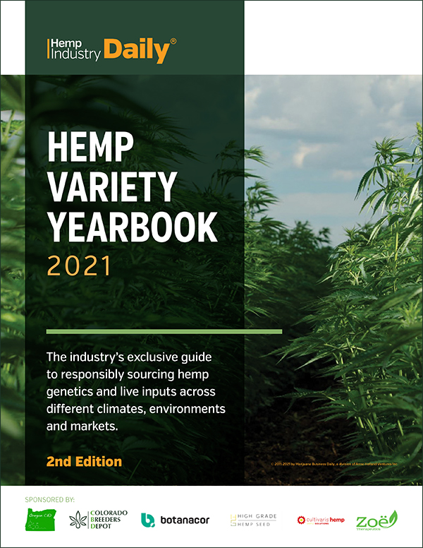 hemp industry daily magazine cover