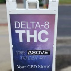 sign for Delta-8 THC